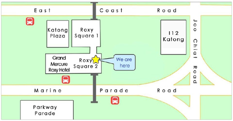 inspire education centre singapore location map