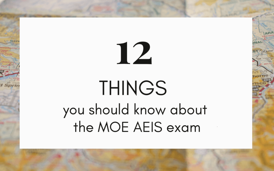 Your guide to registering for the MOE AEIS Examination in Singapore